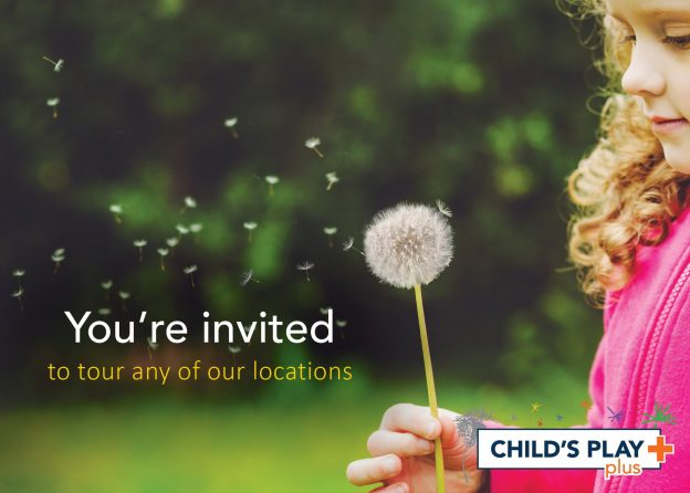 Now is a great time to come and see what Child's Play Plus is all about!