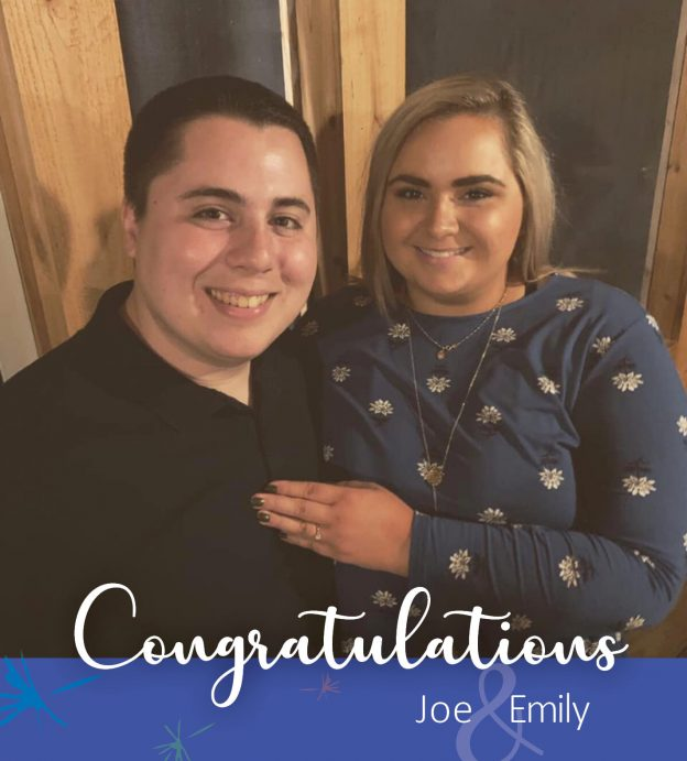 We would like to congratulate our very own Joe Miller and his fiance Emily on their engagement!