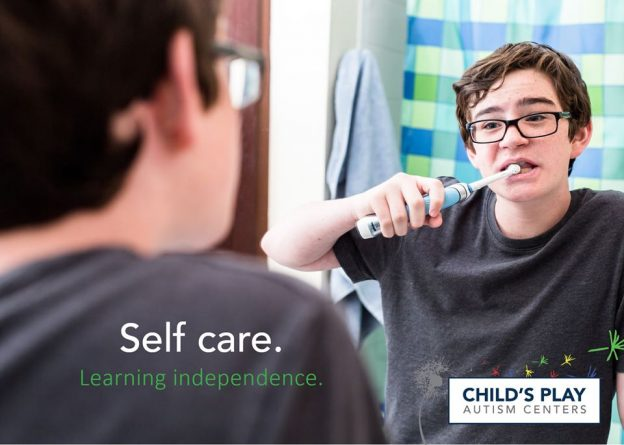 Self care skills are important as your child grows and prepares for the next stages of life.