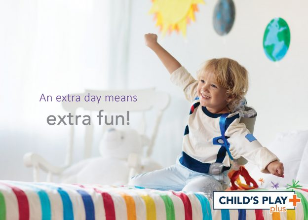 An extra day means extra fun!