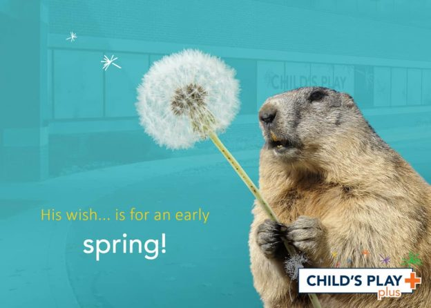 His wish… is for an early spring!