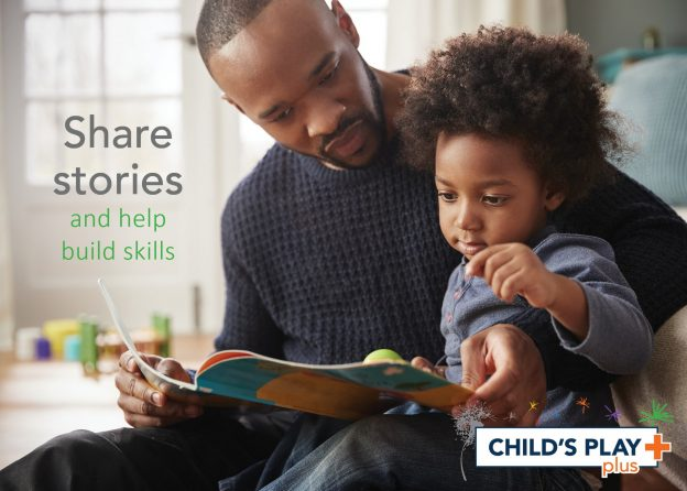Reading to your child is such a strong way to help them learn and grow!