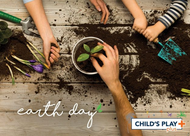 Today is Earth Day and we're taking a look at ways that we can encourage our kids to take part!